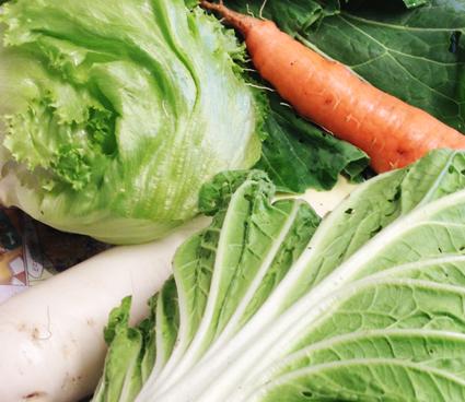 野菜高騰な年に限って。