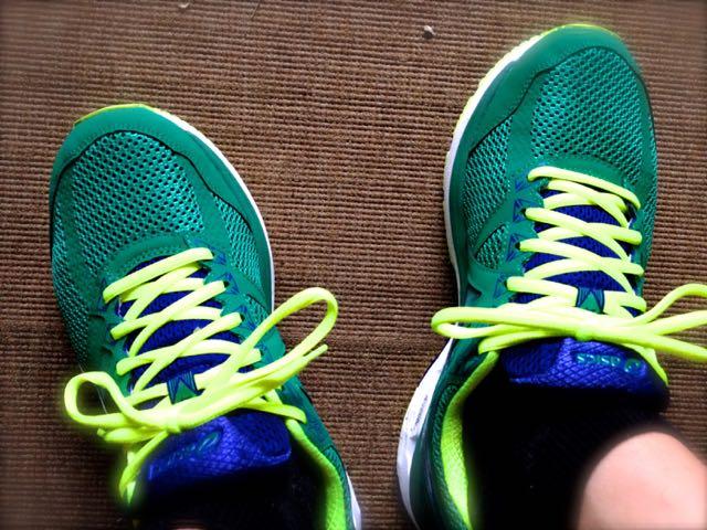 靴をちゃんと選ぶ。