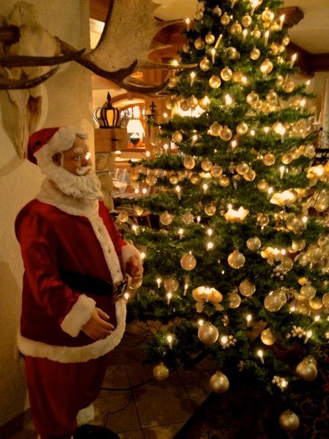 クリスマス気分に憧れるおやじ。