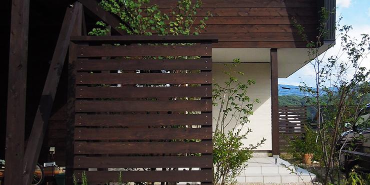 建物と庭の関係