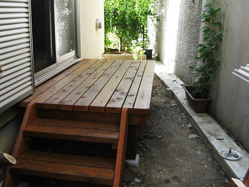 庭のデットスペース