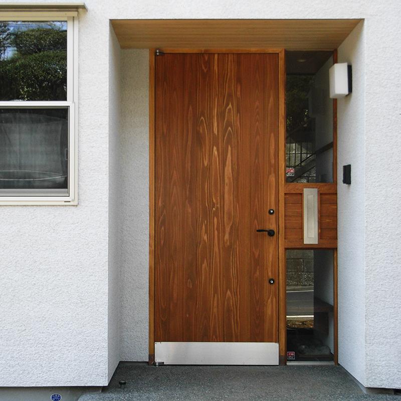 奥行きのある玄関