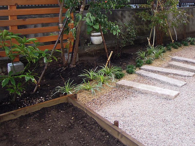 小さな家庭菜園
