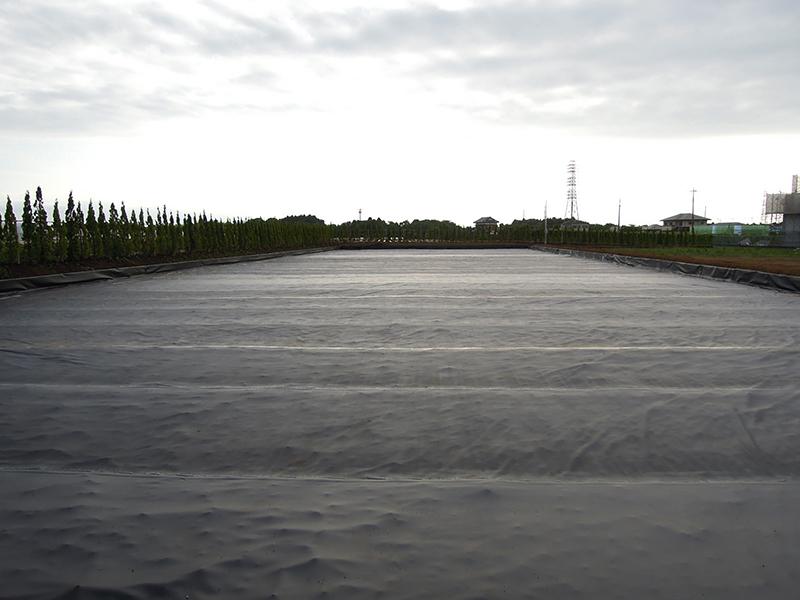 馬場の遮水シート